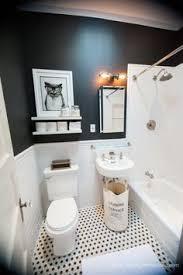 31 retro black white bathroom floor tile ideas and pictures