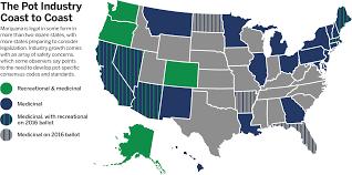 Marijuana Legalization Map Nfpa Journal Growing Pains Sept Oct 2016