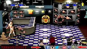 wwe smackdown vs raw 2007 triple h vs big show bar room