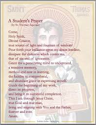 prayers a student s prayer catholiconline shopping
