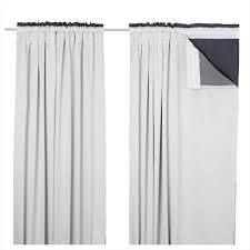 Merete Curtains Ikea Decor Plain White Curtains Ikea Sofa Cope