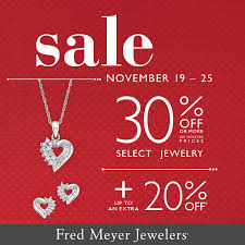 sale at fred meyer jewelers