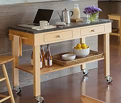 Kitchen Work TableKitchen Island Work Table W Stainless Steel - Kitchen prep tables