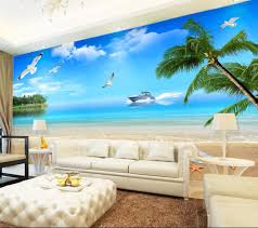 Giant Wall Murals by Online Get Cheap Beach Wall Covering Aliexpress Com Alibaba Group