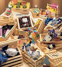 Gift Basket Business Wooden Crates And Gift Baskets Gift Ideas Pinterest Wooden