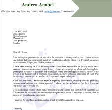 pharmacist cover letter business service vepub