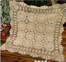 Crochet Table Cloth Online Buy Wholesale Vintage Crochet Doilies From China Vintage