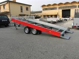 carrello porta auto noleggio rimorchio 2500 kg a noleggio