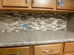 subway tile mosaic backsplash light grey subway white grout with