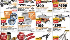home depot black friday doorbuster ad 2017 home depot black friday 2012