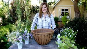hanging basket plants for sun how many plants for a hanging basket youtube