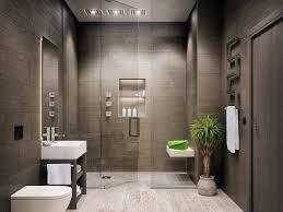 bathroom mid sized minimalist master bathroom wall mirror plant