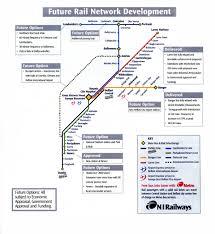 Dart Rail Map Ireland