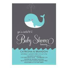 whale baby shower invitations blue baby whale baby shower invitation card