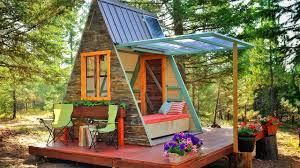 A Frame Cottage by 700 Micro A Frame Cabin Built In 3 Weeks Amazing A Frame Cabin
