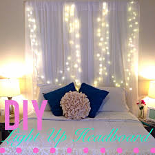 outstanding bedroom for christmas lights headboard diy 85 ic cit