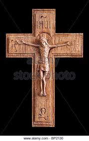 wooden crucifix carved wooden jesus crucifix stock photos carved wooden jesus