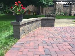 patio ideas with pavers paver patio builder u2013 outdoor living with archadeck of chicagoland
