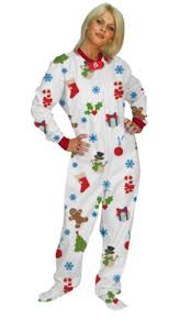 footed pajamas cheer fleece dropseat footed pjs