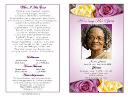 how to make funeral programs memorial service programs sle choose from a variety of cover