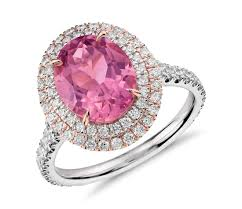 Pink Wedding Rings by