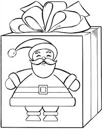 coloring pictures of christmas presents gift box drawing at getdrawings com free for personal use gift box