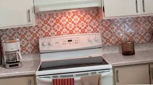 kitchen stick on backsplash backsplash ideas s epiphany kitchen makeover with peel and