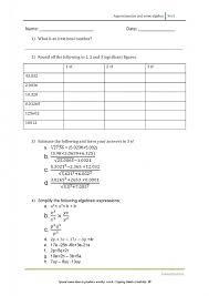 sec 1 maths worksheet hannahtuition