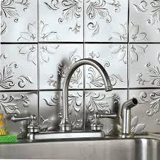 interior elegant gas stove with peel and stick backsplash for