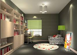 minimalist design for ceiling light of study room 3d house