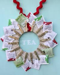 kitchen tea gift ideas handmade gift idea diy tea wreath