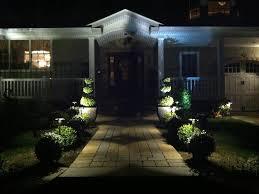 Custom Landscape Lighting by Nassau County Landscape Designs Landscaping Landscapers Custom