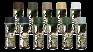 deco color military spray paint camouflage army paintball airsoft