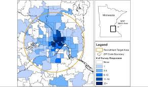 Minnesota Zip Code Map by Jmir Estimation Of Geographic Variation In Human Papillomavirus