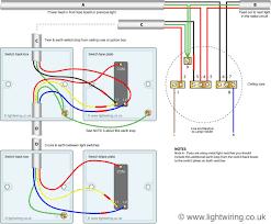 triple light switch wiring diagram gooddy org