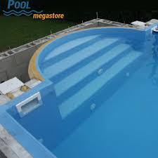 pool treppe römertreppe 4 stufig für oval und rechteckbecken