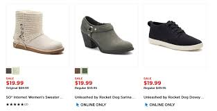 womens boots kohls kohl s black friday is live s boots only 17 00 reg up to