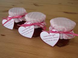 baby girl shower favors set of 12 baby shower favors jam jar favors christening