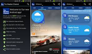 weather channel apk weather channel android 1towatch