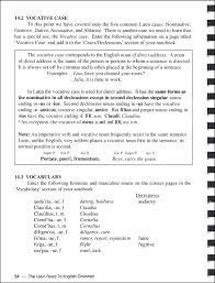 latin road to english grammar v1 textbook with worksheets tests