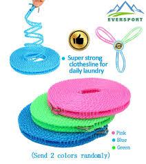 amazon com eversport 2 pack clothesline portable travel