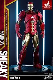general news toys exclusive iron man 3 1 6 sneaky mark xv