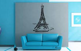eiffel tower tour eiffel wall art decal vinyl sticker home decor