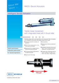 compact sensor actuator with load cell raco pdf catalogue