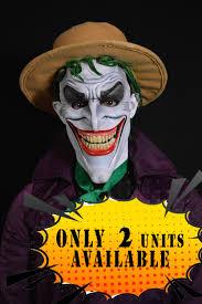 prosthetic halloween mask the joker mask the joker latex mask halloween mask