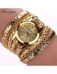 luxury gold bracelet watches images Hot sale top luxury gold watch fashion long leather bracelet watch jpg