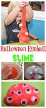 halloween eyeball slime diy halloween cleaning and craft