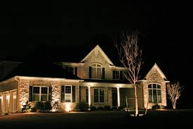 Christmas Lights On House by 8w Led Outdoor Landscape Light Torchstar