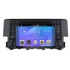 mirror link android 6 0 2016 honda civic hd touchscreen radio gps navigation bluetooth