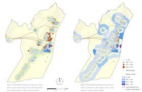 Map Walking Distance Impact Of Rapid Transit On The Residential Market In Hudson County